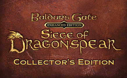 Baldurs Gate: Siege of Dragonspear Collectors Edition